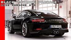 Black 2018 Porsche Gt3 Touring Package