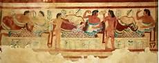 banchetto etrusco pittura degli etruschi tuscia etrusca
