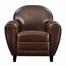 fauteuil club cuir pas cher 49448 fauteuil club cuir marron achetez nos fauteuils club cuir marron rdv d 233 co