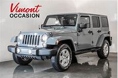 jeep wrangler d occasion jeep wrangler unlimited unlimited trail 2 toits 2014 d occasion 224 laval