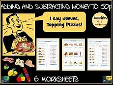money worksheets change from 50p 2103 money addition and subtraction to 50p addition subtraction free math math resources