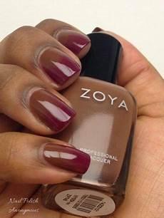Gradient Nail Tutorial Using Zoya S Nyssa And