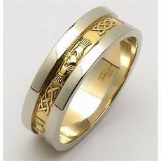 mens white gold wedding bands