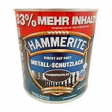 hammerite metall schutzlack hammerschlag 1l rostschutz