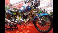 Modifikasi Megapro Herex by Kontes Megapro Primus Modif Drag Style Racing Look Harian