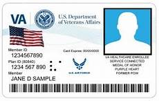 veteran id card template veteran id cards your options are now and in the