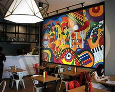 Restaurant Wall Murals attract more customers with customized wall wraps for