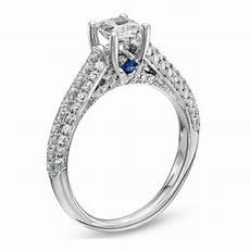 love princess cut diamond engagement ring vera wang the jewellery editor