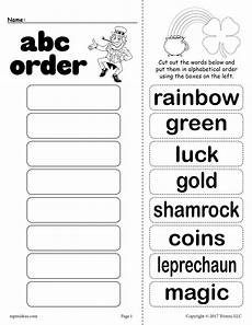 s day worksheets grade 1 20359 free st s day alphabetical order worksheet supplyme