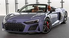 2019 20 audi r8 first official footage new front rear design upgraded engines and more