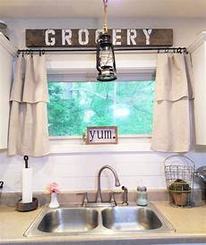 Kitchen Curtains Diy by Homeongrassyroad Drop Cloth Curtains Modern Farmhouse