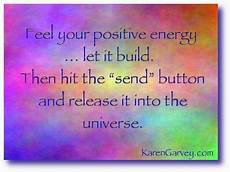 feel your positive energy let it build then hit the