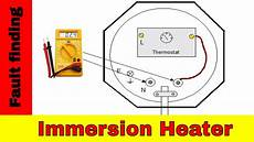 how to fix broken immersion heater electrical fault finding youtube
