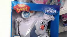 olaf disney frozen light up talking wall decor by quot wall friends quot product review youtube