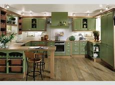 Interior Exterior Plan   Lavish green kitchen
