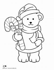 Ausmalbilder Weihnachten Teddy Drawing At Getdrawings Free