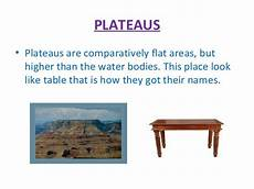 ppt plateaus