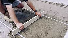 what are the steps involved for finishing concrete