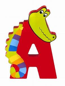 wooden letter a wooden alphabet letters baby nursery