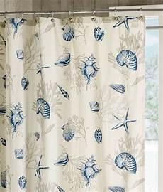 seashell shower curtain blue seashells shower curtain sea shell coral starfish