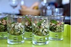 verrine concombre menthe verrines fra 238 cheur concombre menthe et crevettes