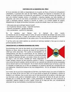 historia de la bandera escudo e himno nacional del per 250