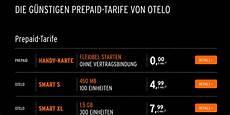 Otelo Prepaid Tarife Ohne Vertragsbindung Im Vergleich
