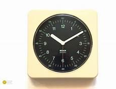 1970s bosch germany bauhaus wall clock uk6 modern panton