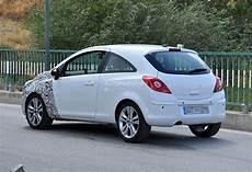 Spyshots 2014 Opel Corsa 3 Door With Major Facelift