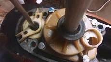 excessive oil from outboard exhaust outboard oil change via shift rod housing rusted oil fill screw workaround hack how to