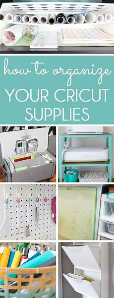 how to organize cricut supplies cricut craft room craft