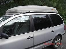 sharan dachbox dachbox direkt auf dachreling vw touran