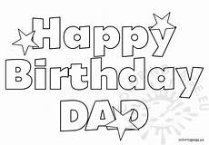 happy birthday free coloring page