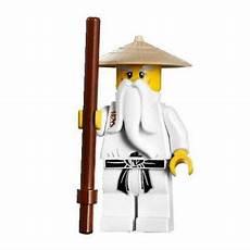 new lego ninjago sensei wu minifig white figure 9446