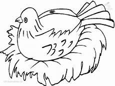malvorlage vogel im nest malvorlage vogel am nest