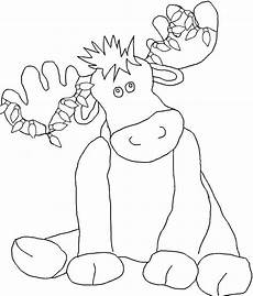 christmoose coloring pages coloring pages