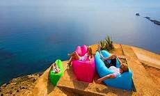 Portable Air Lounge Groupon Goods