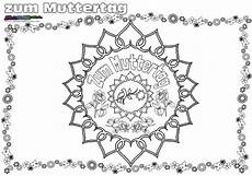 Malvorlagen Mandala Muttertag Muttertag Mandala Herz Ornament Ausmalen Babyduda