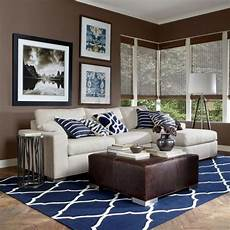 Home Decor Ideas For Living Room Blue by Blue And Brown Living Room Decor Of Me