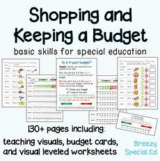 money worksheets special education 2325 budget worksheets do you enough money for special education