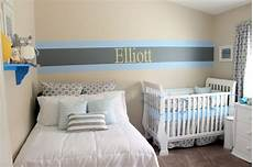 Kinderzimmer Blau Grau - elliott s blue and grey nursery project nursery