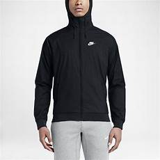 nike mens sportswear windrunner jacket black