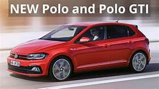 nouvelle polo gti new 2018 volkswagen polo and polo gti look