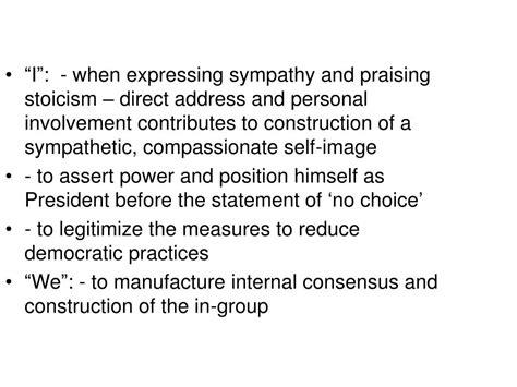 Discursive Strategies