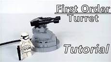 how to build lego wars order turret moc