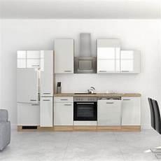 Küchenblock Mit Elektrogeräten - k 252 chenzeile venedig k 252 chenblock mit elektroger 228 ten 310 cm