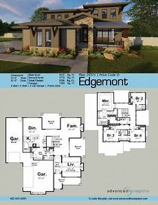 craftsman prairie style house plans 2 story prairie style house plan edgemont house plans