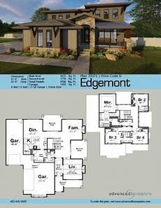 craftsman prairie style house plans 2 story prairie style house plan edgemont house plans