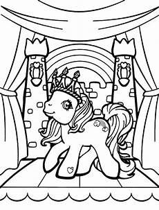 Malvorlagen My Pony Unicorn Rainbow Dash Wears A Crown Coloring Page My Pony