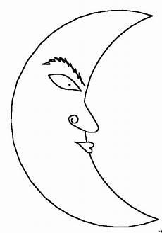 Malvorlagen Sonne Und Mond Mond Mit Kussmund Ausmalbild Malvorlage Sonne Mond Und